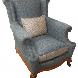 Antique Wing Chair 19