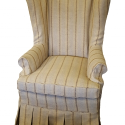 Wing Chair Slip Cover 9
